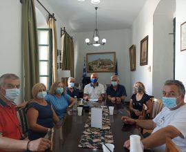 Συνάντηση κλιμακίου της ΕΑΣ ΣΕΓΑΣ Δωδ/σου με τον Δήμαρχο Λέρου