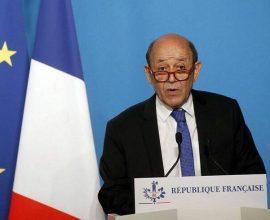 Ζαν-Ιβ Λε Ντριάν: «Η Γαλλία θεωρεί ότι βρίσκεται σε «κρίση» με ΗΠΑ και Αυστραλία»