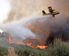 Σε εξέλιξη πυρκαγιά στο δήμο Ήλιδας, στην Ηλεία