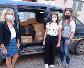 Το Κέντρο Κοινότητας Δήμου Ανδραβίδας-Κυλλήνης παρέλαβε από το Χαμόγελο του Παιδιού τις ποσότητες γάλακτος