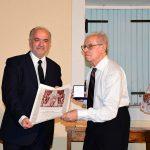 Με το Χρυσό Μετάλλιο αναγνωρίστηκε η προσφορά του Σ. Κωτσόπουλου από τον Δήμο Ι.Π. Μεσολογγίου