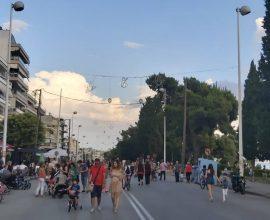 Αυτήν την Κυριακή η πεζοδρόμηση της Ν. Πλαστήρα στον Δήμο Καλαμαριάς