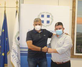 Πατούλης-Βρεττός: Ξεκινούν έργα αναβάθμισης 3.1 εκ. στο Δήμο Αχαρνών