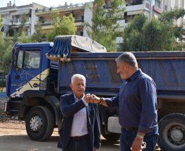 Πατούλης: «Πραγματικότητα ένα έργο με πολλαπλά οφέλη για τους κατοίκους της Ν. Σμύρνης και γενικότερα της Αττικής»