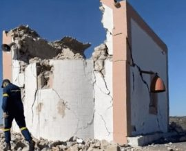 Σεισμός στην Κρήτη: Νεκρός ένας άνδρας στο Αρκαλοχώρι