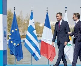 EUMED9-Π. Σάντσεθ: Ευρωπαϊκή απάντηση για τα μεταναστευτικό και την ενέργεια