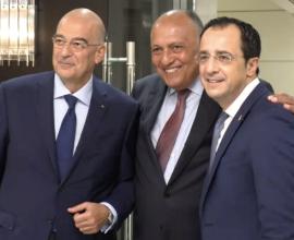 ΗΠΑ: Η επιθετική συμπεριφορά της Τουρκίας στο επίκεντρο της συνάντησης των ΥΠΕΞ Ελλάδας-Κύπρου-Αιγύπτου