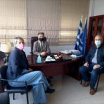 Συνάντηση Δημάρχου Βισαλτίας με την Προϊσταμένη της Ελληνικής Στατιστικής Αρχής στις Σέρρες