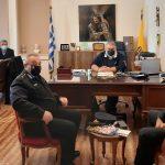 Κλιμάκιο της Πυροσβεστικής Υπηρεσίας επισκέφθηκε τον Δήμαρχο Εορδαίας
