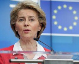 Ντερ Λάιεν: Η ΕΕ καταδικάζει κάθε προσπάθεια εργαλειοποίησης μεταναστών από τρίτες χώρες