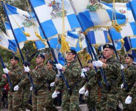 Θεσσαλονίκη: LIVE η στρατιωτική παρέλαση για την Επέτειο της 28ης Οκτωβρίου