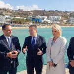 """Πέτσας από Μύκονο: """"18 εκ. ευρώ για νέες εντάξεις έργων ύδρευσης και αποχέτευσης"""""""