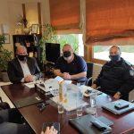 Διευρυμένη σύσκεψη για τη μείωση της παραβατικότητας στον Δήμο Διονύσου, μεταξύ του Δημάρχου και υψηλόβαθμων στελεχών της ΕΛΑΣ