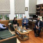 Συνάντηση Περιφερειάρχη Κρήτης με την Υφυπουργό Εργασίας, αρμόδια για θέματα Πρόνοιας και Κοινωνικής Αλληλεγγύης