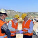 Περιφέρεια Αττικής: Επίβλεψη του έργου κατασκευής του υποθαλάσσιου αγωγού υδροδότησης της Αίγινας από τον Γ. Πατούλη