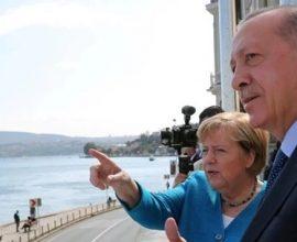 Το ειδυλλιακό αποχαιρετιστήριο ραντεβού Μέρκελ-Ερντογάν στον Βόσπορο