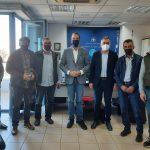 ΠΔΕ: Συνάντηση Φαρμάκη με τον Δήμαρχο Ερυμάνθου και εκπροσώπους φορέων για το Αιολικό Πάρκο στο Λεόντιο