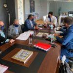 Συνάντηση Δημάρχου Σαντορίνης με τον Υπουργό Τουρισμού