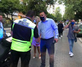 Φωστηρόπουλος σε αστυνομικούς: «Είμαστε στο πλευρό σας!»