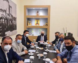 Συνάντηση του Δημάρχου Ρόδου με τον Υπουργό Τουρισμού
