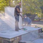 Πεντέλη 2020: Δράση για τον καθαρισμό  και την επιδιόρθωση μαρμάρινου μνημείου στα Μελίσσια