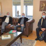 Εθιμοτυπική επίσκεψη απερχόμενου και νέου Αερολιμενάρχη στον Δήμαρχο Καλαμάτας