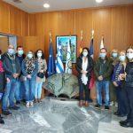 """Μέλη του Erasmus+ """"Art Olympics 2020-23"""" στην Αρχαία Ολυμπία"""