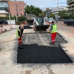 Αποκαταστάθηκε το πρόβλημα με το οδόστρωμα επί της οδού Παπανικολή στο Χαλάνδρι