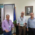 Συνάντηση Δημάρχου Πλατανιά με τον Δήμαρχο Δερύνειας Κύπρου