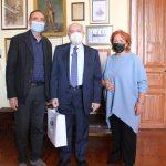 Συνάντηση Δημάρχου Σύρου-Ερμούπολης με τον Γ.Γ. Υπουργείου Παιδείας
