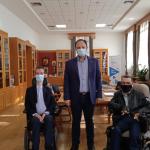 Συνάντηση του Δημάρχου Καλαμαριάς με τον ευρωβουλευτή Στέλιο Κυμπουρόπουλο