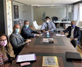 Η Πηγή Λουτρών Ωραίας Ελένης αντικείμενο της συνάντησης του Δημάρχου Κορινθίων με τον Υπουργό Τουρισμού