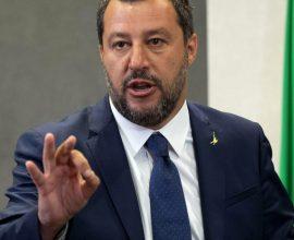 Άρχισε η δίκη κατά του Σαλβίνι στη Σικελία