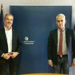Συνάντηση του Δημάρχου Θεσσαλονίκης  με τον Πρόεδρο του ΚΕΘΕΑ Χρ. Λιάπη