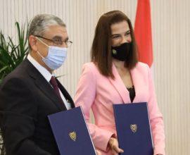 Στρατηγικής σημασίας το μνημόνιο διασύνδεσης των δικτύων ηλεκτρισμού Κύπρου και Αιγύπτου